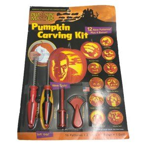 Pumpkin Carving Kit with 16 patterns
